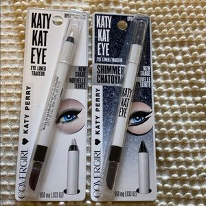 2/$14 CoverGirl Katy Kat eye liner